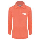 Columbia Ladies Half Zip Coral Fleece Jacket-Bendix