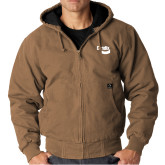 DRI DUCK Cheyenne Field Khaki Hooded Jacket-Bendix