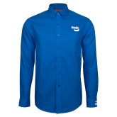 Red House French Blue Long Sleeve Shirt-Bendix