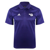 Adidas Climalite Purple Jaquard Select Polo-Bendix