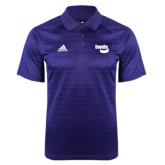 Adidas Climalite Purple Jaquard Select Polo-Bendix