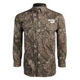 Camo Long Sleeve Performance Fishing Shirt-Bendix