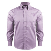 Red House Purple Plaid Long Sleeve Shirt-Bendix