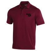 Under Armour Maroon Performance Polo-Bendix