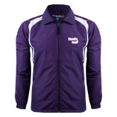 Colorblock Purple/White Wind Jacket-Bendix