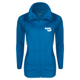 Ladies Sport Wick Stretch Full Zip Sapphire Jacket-Bendix