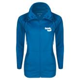 Ladies Sport Wick Stretch Full Zip Sapphire Jacket-Bendix