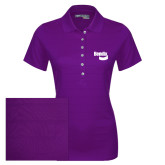 Ladies Callaway Opti Vent Purple Polo-Bendix