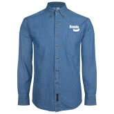 Denim Shirt Long Sleeve-Bendix
