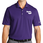 Nike Golf Dri Fit Purple Micro Pique Polo-Bendix