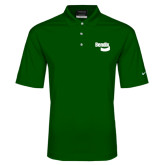 Nike Golf Dri Fit Dark Green Micro Pique Polo-Bendix