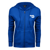 ENZA Ladies Royal Fleece Full Zip Hoodie-Bendix