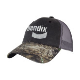 Mossy Oak Grey Mesh Back Structured Hat-Bendix