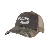 Realtree Edge Brown Mesh Back Structured Hat-Bendix