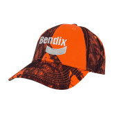 Mossy Oak Orange Blaze Structured Hat-Bendix