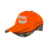 Realtree Xtra Orange Blaze Structured Hat-Bendix