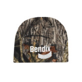 Mossy Oak Camo Fleece Beanie-Bendix