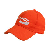 Orange Heavyweight Twill Pro Style Hat-Bendix