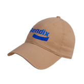 Khaki Twill Unstructured Low Profile Hat-Bendix
