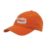 Orange Flexfit Mid Profile Hat-Bendix