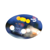 Small Magnet-Bendix Truck in Lights, 5 inches wide