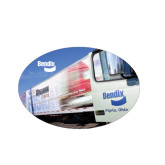 Small Magnet-Bendix Truck Parking Lot, 5 inches wide