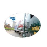 Medium Magnet-Bendix Truck City Background, 7 inches wide