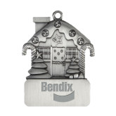 Pewter House Ornament-Bendix Engraved