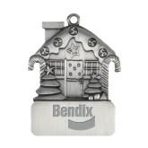 Pewter House Ornament-Bendix Engraved