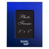 Royal Brushed Aluminum 3 x 5 Photo Frame-Bendix Engraved