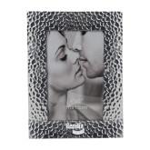 Silver Textured 4 x 6 Photo Frame-Bendix Engraved