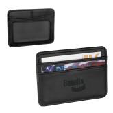 Pedova Black Card Wallet-Bendix Engraved