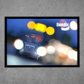 Full Color Indoor Floor Mat-Bendix Truck in Lights