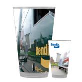 Full Color Glass 17oz-Bendix Truck City Background