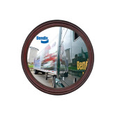Round Coaster Frame w/Insert-Bendix Truck City Background