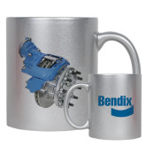 Full Color Silver Metallic Mug 11oz-Bendix 22X Angle