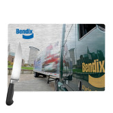 Cutting Board-Bendix Truck City Background