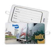 Luggage Tag-Bendix Truck City Background