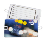 Luggage Tag-Bendix Truck in Lights