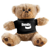 Plush Big Paw 8 1/2 inch Brown Bear w/Black Shirt-Bendix