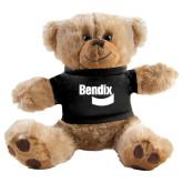 Plush Big Paw 8 1/2 inch Brown Bear w/Black Shirt-Bendix