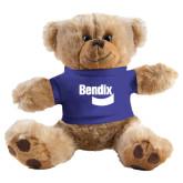 Plush Big Paw 8 1/2 inch Brown Bear w/Royal Shirt-Bendix