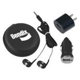 3 in 1 Black Audio Travel Kit-Bendix