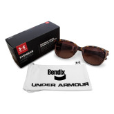 Ladies Under Armour Perfect Tortoise Sunglasses-Bendix