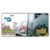 License Plate-Bendix Truck City Background