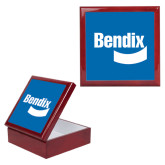 Red Mahogany Accessory Box With 6 x 6 Tile-Bendix