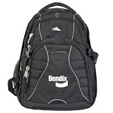 High Sierra Swerve Black Compu Backpack-Bendix