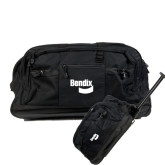 Urban Passage Wheeled Black Duffel-Bendix