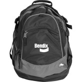 High Sierra Black Titan Day Pack-Bendix