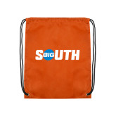 Orange Drawstring Backpack-Big South